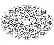 Coloriage mandalas to download for free 17