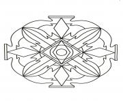 Coloriage mandalas to download for free 6