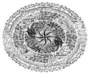 Coloriage coloring free mandala difficult adult to print 18