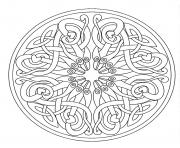 Coloriage mandalas to download for free 9  dessin