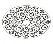 Coloriage mandalas to download for free 25