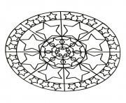 Coloriage mandalas to download for free 13