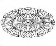 Coloriage mandalas to download for free 27