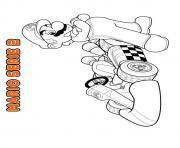mario bros nintendo 11 dessin à colorier