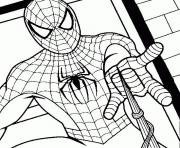 Coloriage spiderman 126