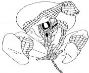 Coloriage spiderman 141