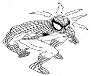 Coloriage spiderman 186