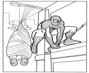 Coloriage spiderman 288