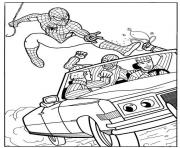 Coloriage spiderman 28