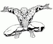 Coloriage spiderman 190