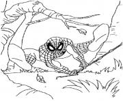 Coloriage spiderman 185