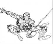 Coloriage spiderman 132