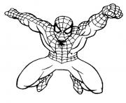 Coloriage spiderman 242