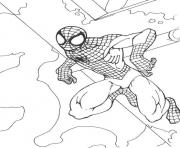 Coloriage spiderman 279