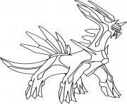 Coloriage pokemon heatran dessin