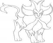 Coloriage pokemon ronflex dessin
