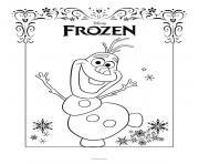 Coloriage elsa disney frozen dessin