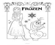 Coloriage Elsa la belle princesse dessin