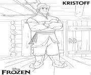 Coloriage Elsa Anna Frozen Avalanche lego disney dessin