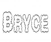 Coloriage Bryce