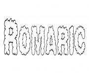 Romaric dessin à colorier