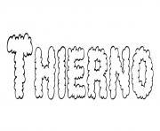 Thierno dessin à colorier