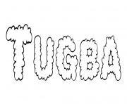 Tugba dessin à colorier
