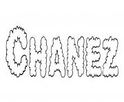 Coloriage Chanez