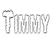 Timmy dessin à colorier