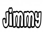Coloriage Jimmy