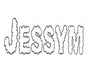 Jessym dessin à colorier