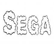 Sega dessin à colorier