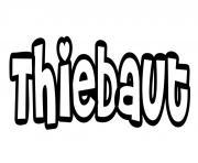 Thiebaut dessin à colorier