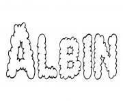 Albin dessin à colorier