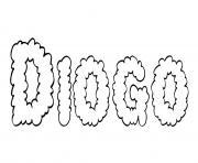 Diogo dessin à colorier