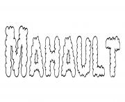Coloriage Mahault
