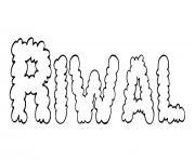 Riwal dessin à colorier