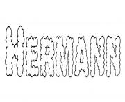 Coloriage Hermann
