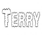 Coloriage Terry