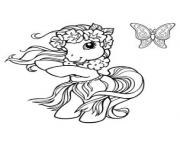Coloriage my little poney 16