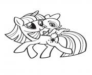 Coloriage my little poney 7