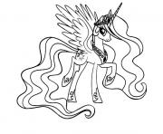 Coloriage my little poney 10