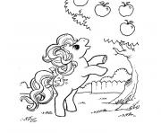 Coloriage my little poney 4