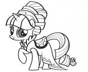 Coloriage my little poney 1