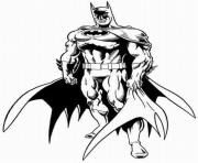 Coloriage batman la releve