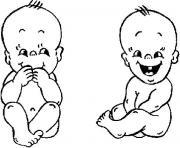 bebe 2 ans dessin à colorier