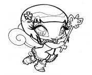 bebe winx dessin à colorier