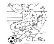 foot mondial dessin à colorier
