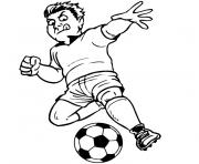 Coloriage de foot