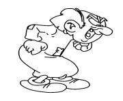 schtroumpfs gargamel dessin à colorier